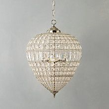 Buy John Lewis Dante Grande Pendant Light Online at johnlewis.com. Love this look in a hallway or kitchen. Like to see them in groups and various sizes. Expensive investment at £235.