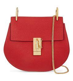 CHLOE - Drew small leather cross-body bag | Selfridges.com
