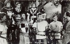 postcard - roger moore - ivanhoe - tv movie - '50s | by sonobugiardo