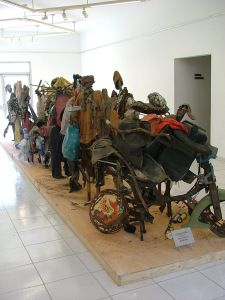 Dilomprizulike, The Face of the City, 2006 Contemporary African Art, Contemporary Sculpture, City, Image