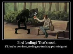 Ryuk and Light… Haha XD        _Death Note