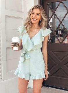 Pink Lily Boutique, Summer Romper, Casual Wear, Spring Fashion, Style Me, Cute Outfits, Rompers, Spring Style, Spring Summer