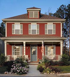 paint colors for the exterior or interior of the home. I love this color