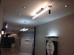 www.nationallighting.ie National Lighting, Lighting Showroom, Track Lighting, Ceiling Lights, Home Decor, Decoration Home, Room Decor, Ceiling Lamp, Ceiling Fixtures