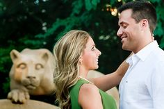 Penn State Engagement Photo