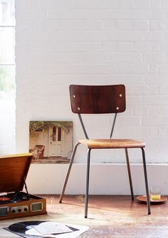 Sourcing Old School Chairs   Google Search | Seating | Pinterest | School  Chairs, Stacking Chairs And Cottage Ideas