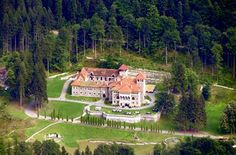 Cantacuzino Castle in the Carpathian Mountains