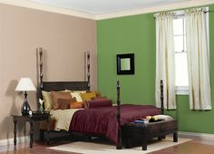 I love this colour from BEHR® I found Springview Green P380-6 using my ColourSmart by BEHR™ Mobile App. What do you think?