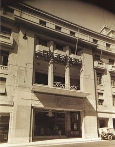 """Pallas"" theater ~ Voukourestiou str., Athens Greece Pictures, Old Pictures, Old Photos, Vintage Photos, Greek Culture, The Old Days, Athens Greece, Rare Photos, Greek Islands"