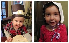 Pilgrim Hat and Bonnet to get ready for #Thanksgiving