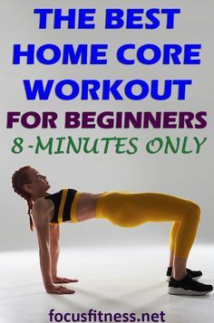 If you want to build core strength here's the best home core workout for beginners. Only it only takes 8 minutes If you want to build core strength here's the best home core workout for beginners. Only it only takes 8 minutes Quick Weight Loss Tips, Weight Loss Help, Lose Weight In A Week, Weight Loss Program, Best Weight Loss, Weight Gain, Weight Lifting, Lost Weight, Reduce Weight