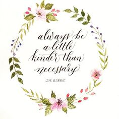 Good words, and a design that was made for embroidery! From Delta Breezes, Tumblr/Sarah Richardson | @sarahscript