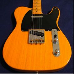 My very first love, my 1952 reissue telecaster