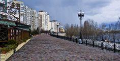 Оболонская набережная – около 4 км. прогулки!!!Киев