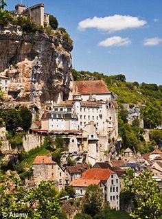 Rocamadour in the Lot Region of France...