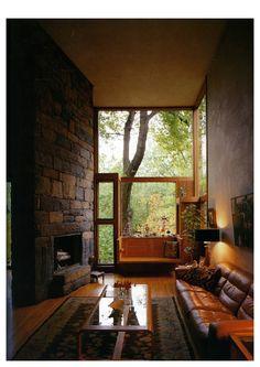 window seat - FIsher House - Hatboro, Pennsylvania, USA - Louis Kahn, 1967