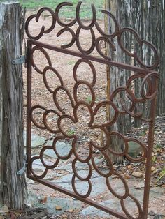 Decorating with Horse Shoes | White Ironstone Cottage