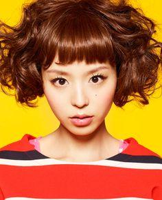 Aya Hirano Aya Hirano, Love Your Hair, Short Cuts, Japanese Girl, Ronald Mcdonald, Beauty Makeup, Short Hair Styles, Kpop, Campaign