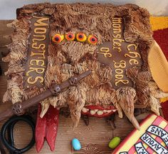 Harry Potter birthday cake!