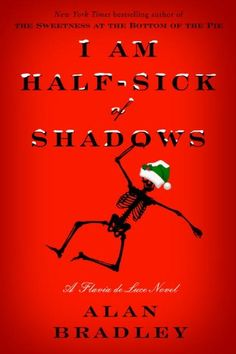I Am Half-Sick of Shadows: A Flavia de Luce Novel by Alan Bradley.  Flavia Luce, Bradley's eleven-year-old sleuth with a penchant for chemistry delivers pointed satire worthy of someone many decades older.  The family estate is the setting for mayhem when a film company comes calling.  http://www.ebooknetworking.net/books_detail-0385344015.html