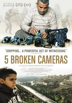 5 Broken Cameras - 4/5 - A Palestinian man films life over 5 years