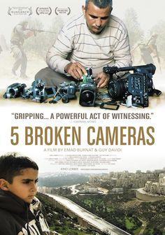 5 Broken Cameras - 4/5 - A Palestinian man films life over 5 years