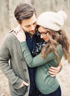 Couples style.... Maybe when J and I finally get our professional photos done we'll look this adorable