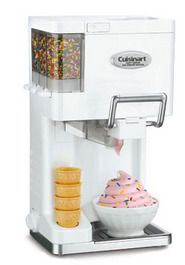 Cuisinart Mix It In Soft Serve Ice Cream Maker - easy and fantastic way to spend an afternoon with the kids