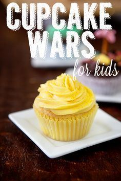 Cupcake Wars for Kids - this was so much fun!