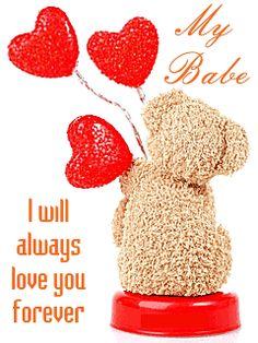 Send this romantic ecard to your special someone and make her happy. Free online Love You Forever Babe ecards on Love I Love You Means, Love You Gif, Dont Love Me, I Love You Baby, Happy Love, Always Love You, Good Morning Sweetheart Quotes, Morning Love Quotes, Good Morning Love
