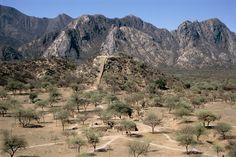 Ruinas del Shincal de Quimivil, capital sur del Imperio Inca. Belèn. Catamarca. Argentina