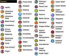 ART JOURNAL LIST | Super Power List by shadowthesymbiote on deviantART