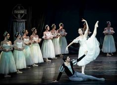 """Compañía Nacional de Danza de México                    National Dance Company of Mexico Mayuko Nihei and Argenis Montalvo Cerpa """"Giselle"""""""