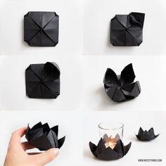 DIY Origami Lotusblüte & Yoga und Meditation mit Lotuscrafts