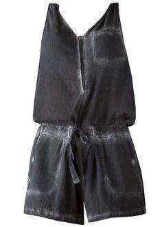 Garcia Mørkegrå Jumpsuit E70088 Ladies Jumpsuit - black