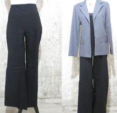 Renuar Designer Woman's Dress Pants, Black Woman's Dress Pants #Renuar #DressPants