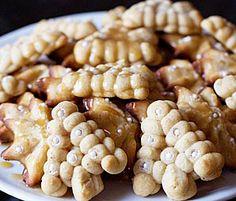 Caramel Macchiato Spritz Cookies by