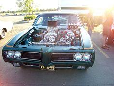 1969 Supercharged Pontiac GTO