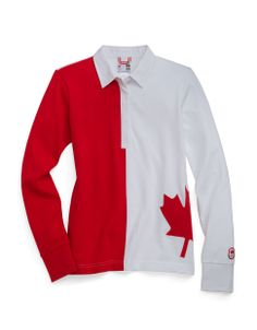 Olympic Collection | Sochi 2014 Maple Leaf Rugby Shirt | Hudson's Bay #HBCOlympics