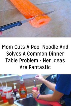 Pool noodles aren't just for your kids and the pool. They can actually be used for a variety of DIY projects around the house. Here are a few fun and clever ways to use pool noodles in an effective manner. Simple Life Hacks, Useful Life Hacks, Pool Noodle Crafts, 1000 Lifehacks, Mason Jars, Pool Noodles, Diy Projects To Try, Craft Projects, Clean House
