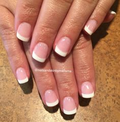 French dipping powder nails - Dip powder nails - - Care - Skin care , beauty ideas and skin care tips French Nails, French Manicure Acrylic Nails, Sns Nails, Nail Manicure, Nail Polish, French Manicures, Dip Nail Colors, American Nails, Nagel Hacks