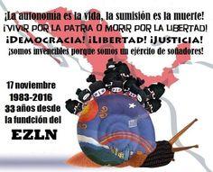 UNA MIRADA A LA HISTORIA DEL EZLN/Himno Zapatista/Palabras de la Comisión Sexta en el 23 aniversario/