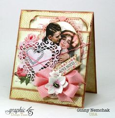 Mon Amour Love Notes Card Graphic 45 1