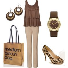 Cute brown outfit