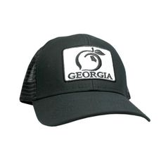 The Georgia Patch Mesh Back Hat is crafted from high-quality canvas weave.  Similar 0a7a64e581bb