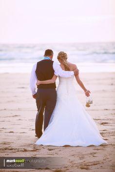 Hannah & Danny. Wedding Photography. Gwithian Beach Cornwall