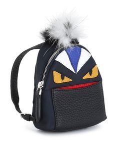3cebf634cff9 Fendi Micro Monster Backpack-Shaped Charm