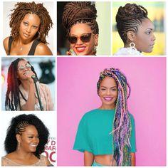 black braided hairstyles 2016