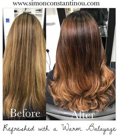 Cardiffs Balayage Specialists A Gorgeous Colour By Laura Grown Out Highlights Are Refreshed With Warmer Softer And Darker Root Fa