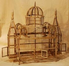 I have a small obesession with bird cages on pinterest for Cage a oiseaux decorative